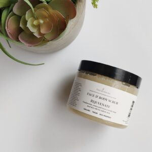 rejuvenate face scrub